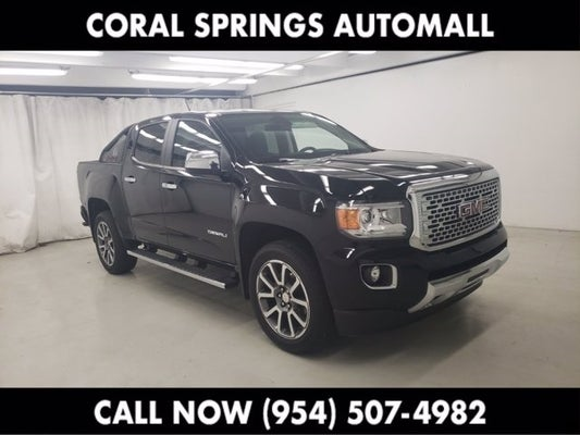 used 2018 gmc canyon for sale near ft lauderdale sku pj1123152 coral springs nissan